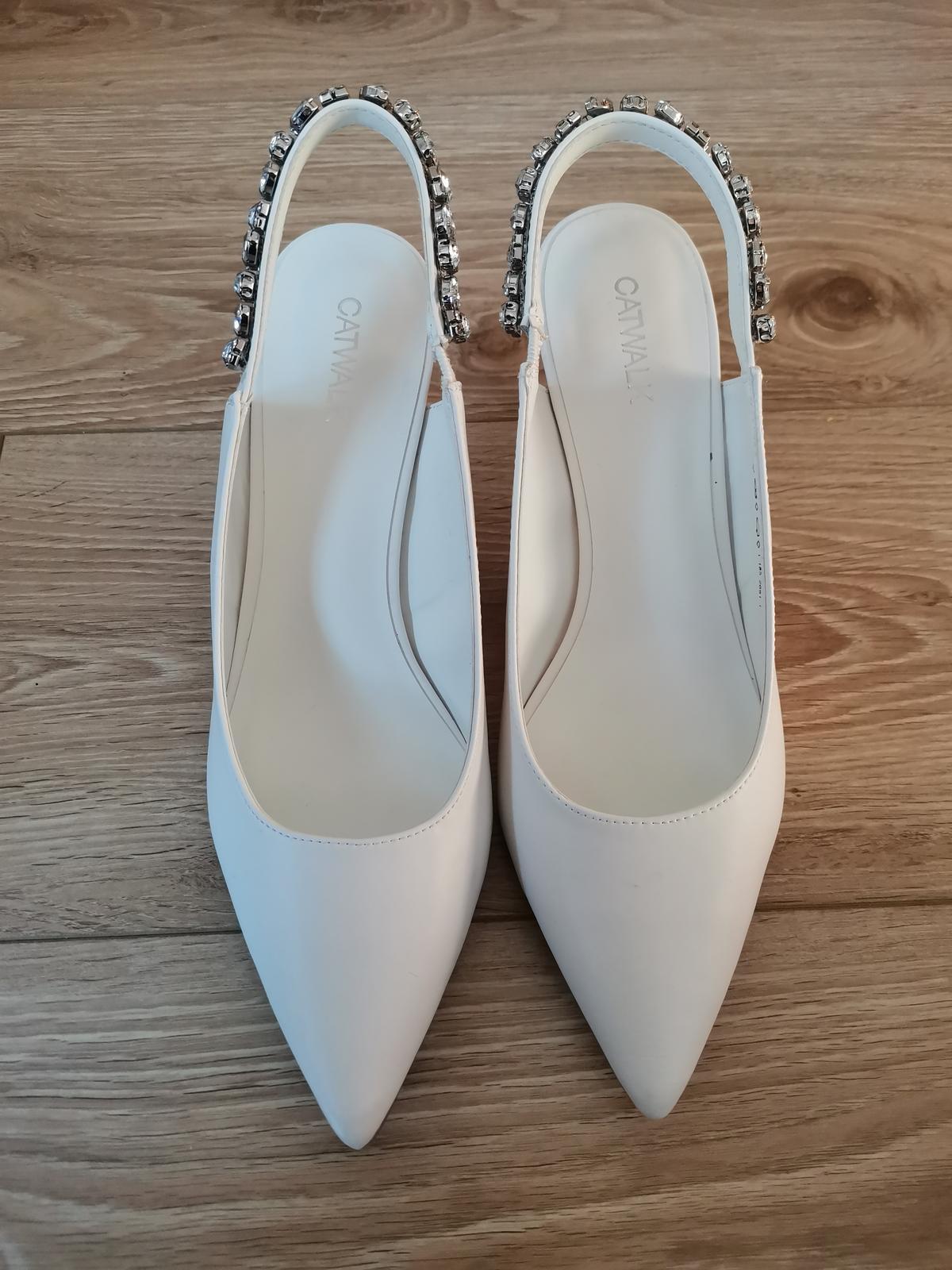 Svadobné topánky / lodičky - Obrázok č. 3