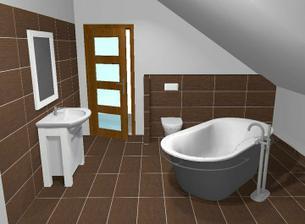 horní koupelna:)