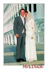 Tomův svatební žaket... jen vestička a regata budou do stříbrna