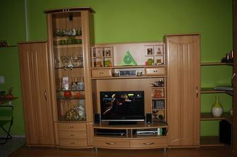 naša obývačková zostava - rohová - 1.časť