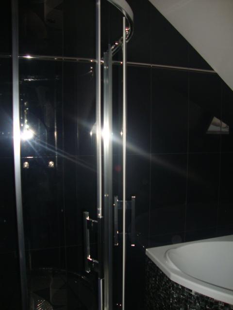 Náš domeček - pohled do koupelny