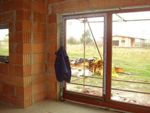 Terasové posuvné dveře..už se těším jak budeme pít kafčo na terase