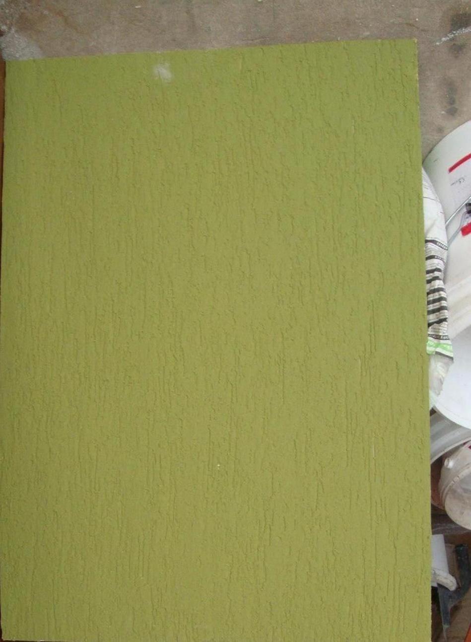 Náš domeček - Fasádní barva objednána,barva oliva