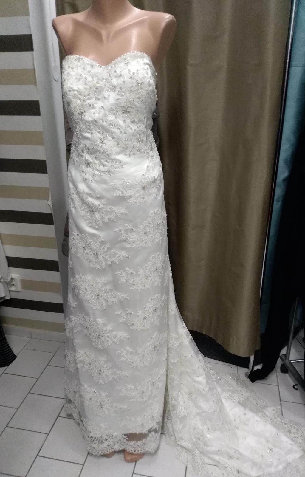 Luxusní svatební šaty z Anglie - Obrázek č. 1