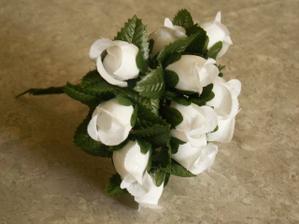 S týchto ružičiek budem robiť pierka pre chlapov