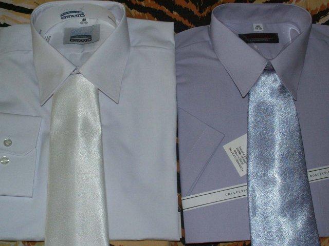 Uz sa neviem dočkat - taketo nádherné košielky a kravatky k tomu bude mať môj drahy, aby so mnou ladil na svadbe aj po polnoci