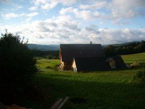 podzimní ráno po lijáku