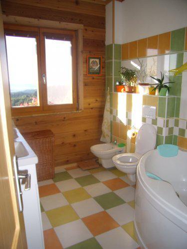 Roubenka z cedru - spodní koupelna