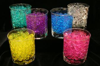 gelové guličky do vázy
