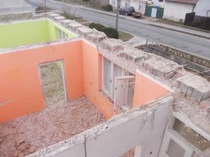 oranž.obývák, zelená ložnice
