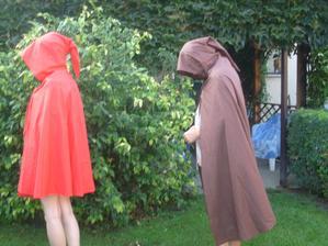pláště pro elfy na tábor