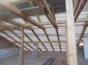 zadní střecha hotová
