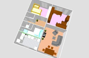 hrála jsem si:-) rozložení bytu po rekonstrukci...akorát místo té sprchy bude pračka, kterou jsem původně chtěla v kuchyni