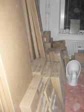 Ikea kuchyně v krabicích:-D