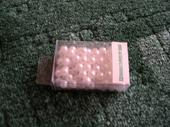 Perličky bílé perleťové 8mm,
