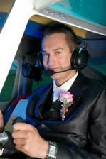 celý život bude pilotom nášho vzťahu...