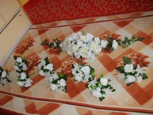 ikebana s kytickami