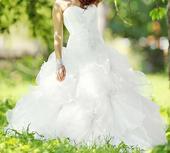 Svadobné šaty podľa podľa modelu Flower, 38