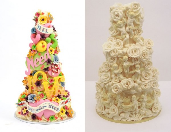 Nas specialny den - ta biela torta je krasna