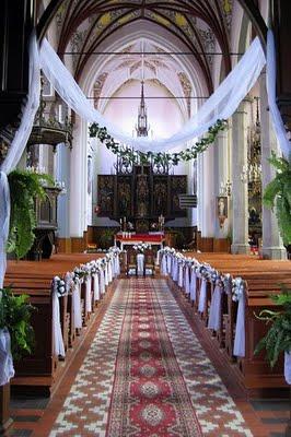 Nas specialny den - vyzdoba kostola