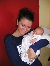 Moje neteřinka Viktorie - 24.2.2007 se mnou!