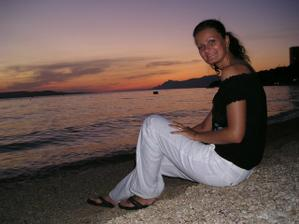Svatební cesta Chorvatsko! Prstýnky jsme měli sebou, manžílek ho sundaval jenom do moře!!