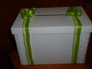 Naše krabička na přání-dárek od kamarádky