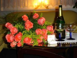 11.12.06 mé narozeniny, zároveň zásnuby a žádost o ruku :-)