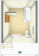 grafický návrh kúpeľne