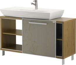 kúpeľňová skrinka silva s umývadlom 100 cm symfonia