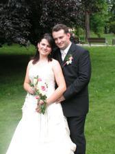 Včera 9.6.měli svatbu naši kamarádi Lucka a David......