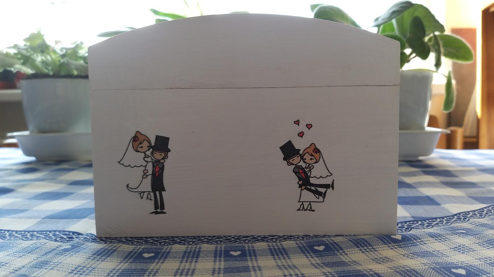 Drevená pokladnička - Obrázok č. 1