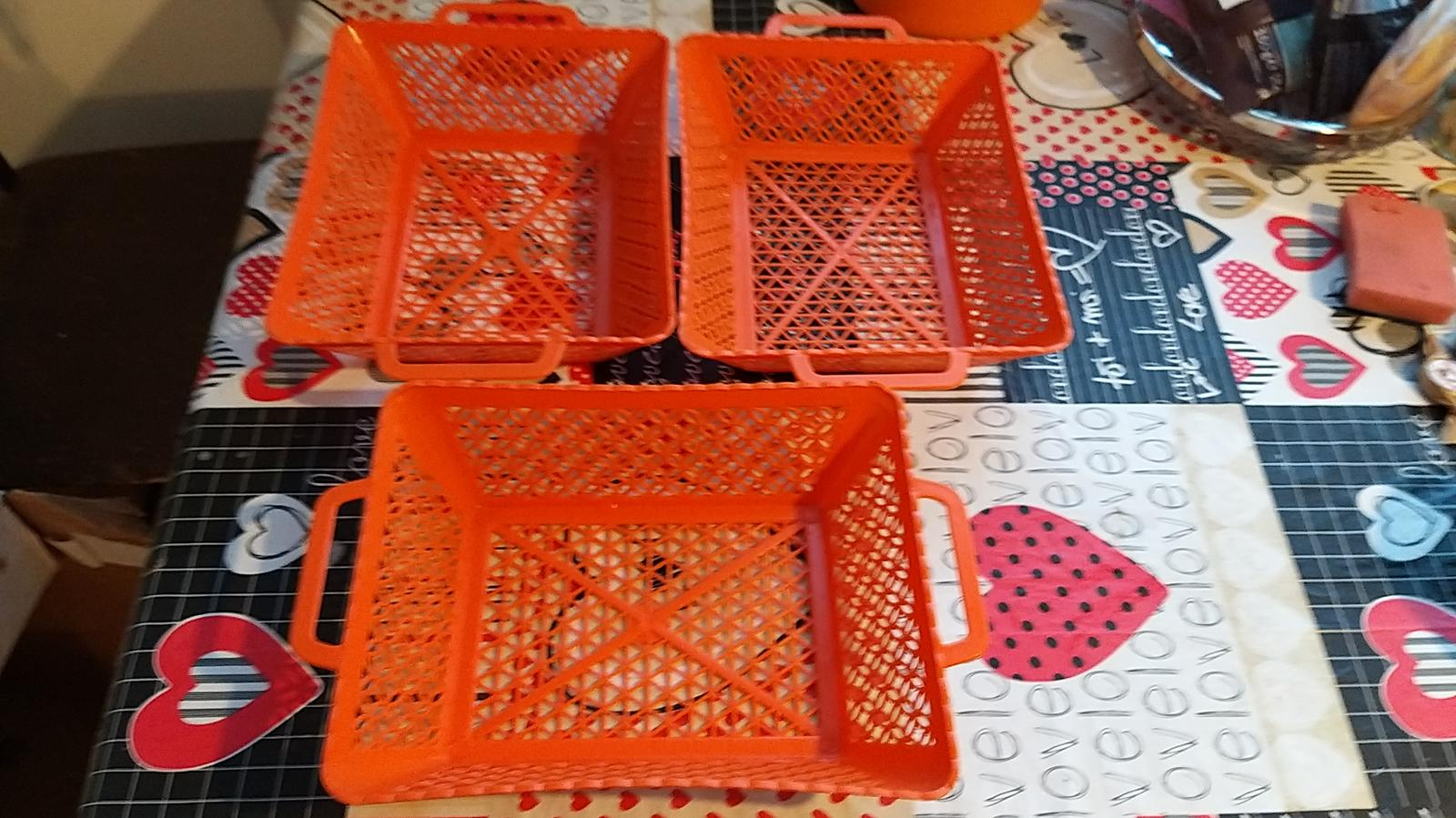 Košik oražový - Obrázok č. 1