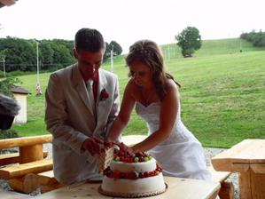 Náš mňam dortík...