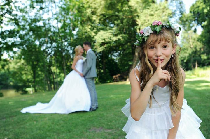 La Florista - svatební kytice a květiny - věneček pro družičku