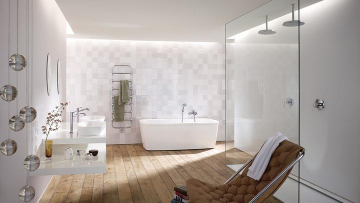 Takto nejako si predstavujem náš dom... - dolná kúpelňa..len škoda,že túto sériu už villeroy-boch nevyrába..:(