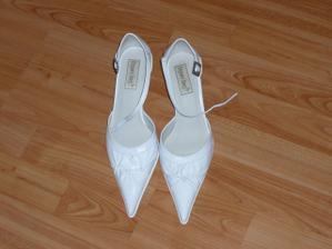svadobné topánočky ...