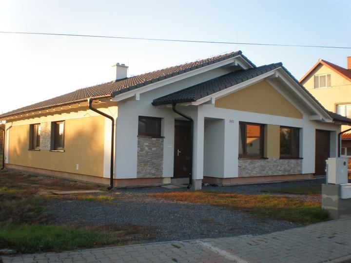 Bungalov 967 - Konecne obklad + Golden Kvarcit