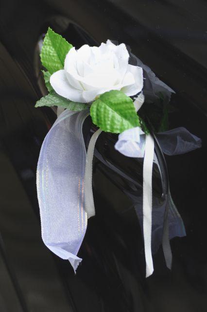 růže na kliku od auta - zadní 4ks - Obrázek č. 1
