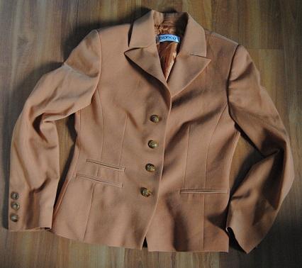 Hnědooranžové sako Bianca vel.38 - Obrázek č. 1