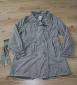 Šedý kabátek XL , 44