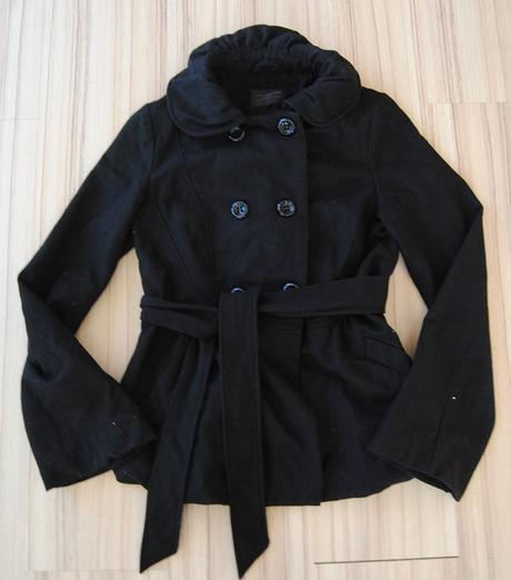 Černý kabátek New Look S - Obrázek č. 1