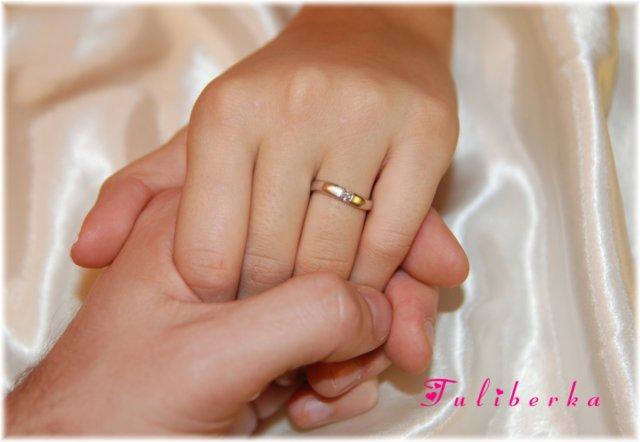 Lucie & Radek ♥2.8.2008♥ - můj zásnubní prstýnek