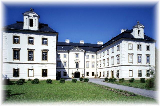 Místo našeho svatebního obřadu, zámek Vizovice