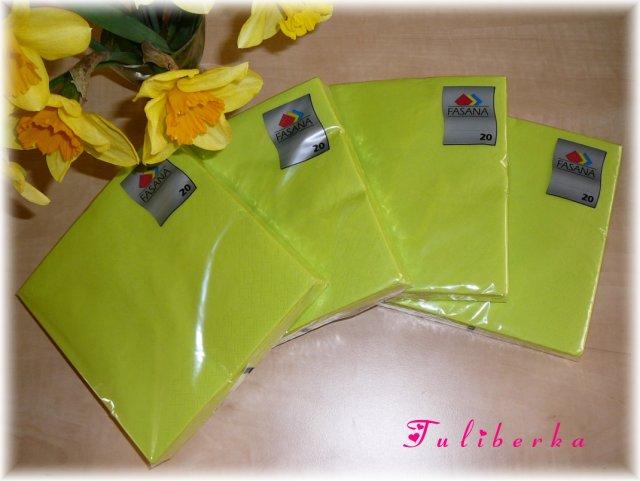 Lucie & Radek ♥2.8.2008♥ - nové ubrousky ve správné barvě ;o)