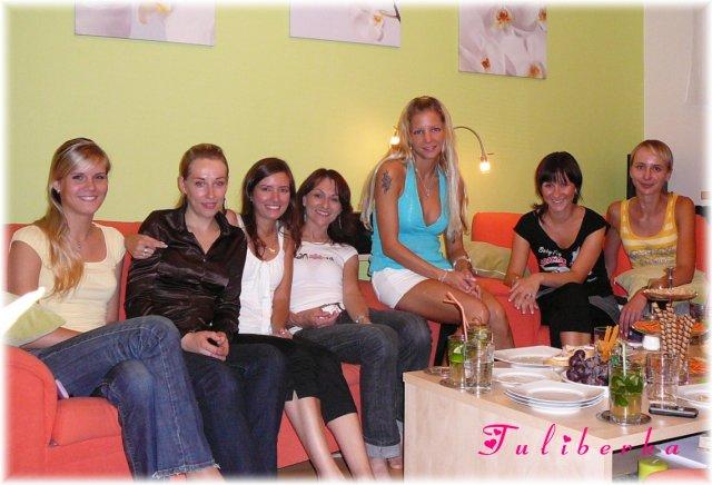 Lucie & Radek ♥2.8.2008♥ - 19.7. byla rozlučka se svobodou, nakonec u nás doma