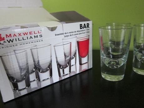 Maxwell & Williams sklenice 110ml na likér 6ks,BAR - Obrázek č. 1
