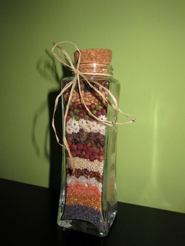 Dekorace do kuchyňe ze semínek - Obrázek č. 1