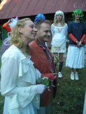 Takto nam pripravili (nácvik) na svadbu kamaráti :-)