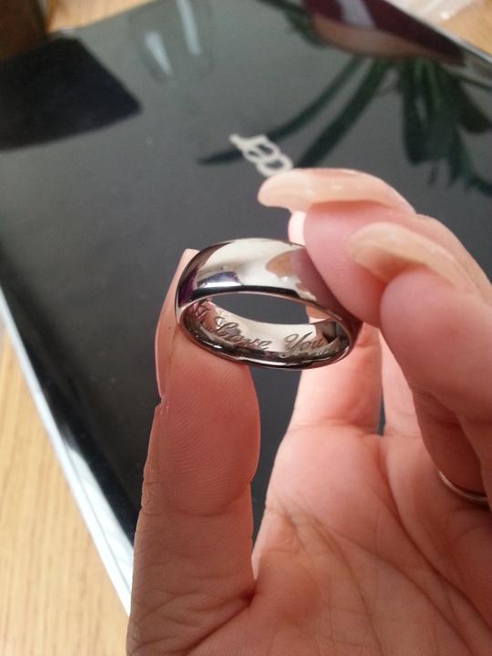 Nase prstienky - A takto to vyzera z vnutra...I LOVE YOU..:)